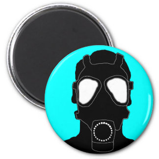 cool gas mask magnet