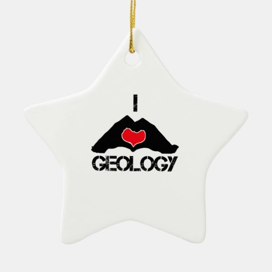 cool geology designs christmas ornament