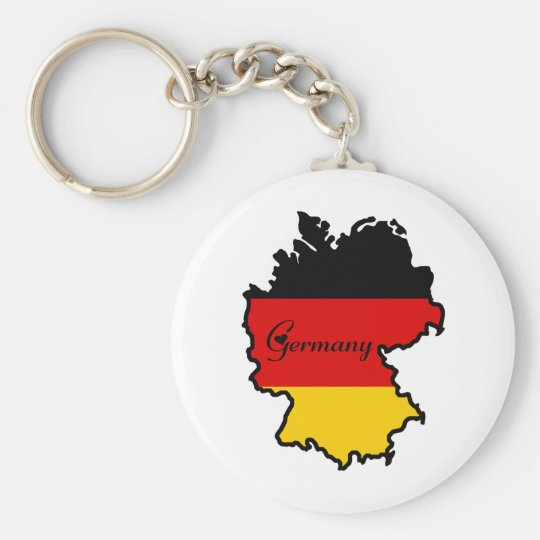 Cool Germany Basic Round Button Key Ring