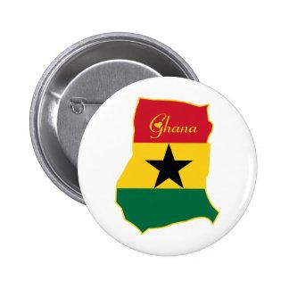 Cool Ghana Pinback Buttons