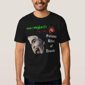 Cool Ghoul Satanic Rites of Dracula T-Shirt