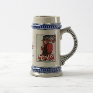 Cool Ghoul Stein Beer Steins
