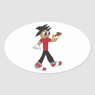 Cool Gift Ideas - The Average Kid Oval Sticker
