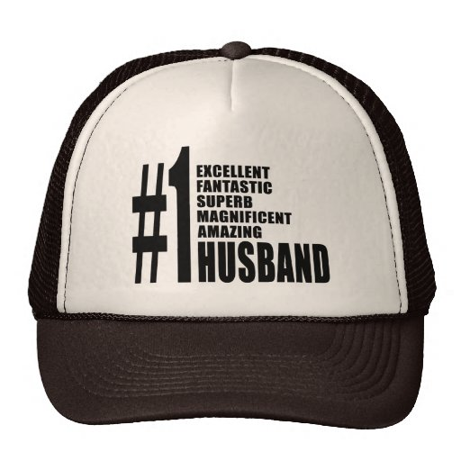 Cool gifts for Husbands : Number One Husband Hat