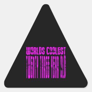 Cool Girls 23rd : Pink Worlds Coolest Twenty Three Stickers