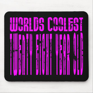 Cool Girls 28th : Pink Worlds Coolest Twenty Eight Mouse Pad