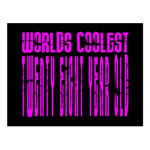 Cool Girls 28th : Pink Worlds Coolest Twenty Eight Post Cards