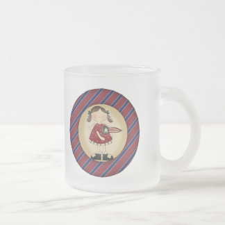 Cool Girls T Shirts and Girls Gift Frosted Glass Mug