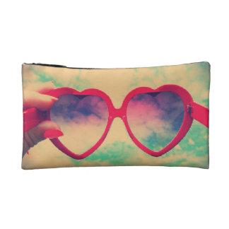 cool glasses cosmetic bag