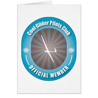 Cool Glider Pilots Club Card