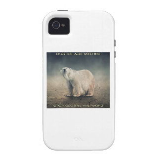 cool GLOBAL WARMING designs iPhone 4 Case