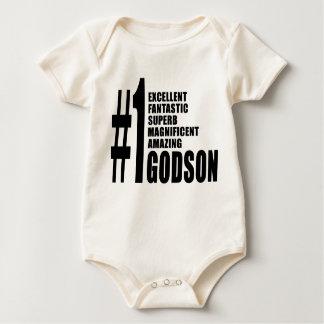 Cool Godsons : Number One Godson Romper