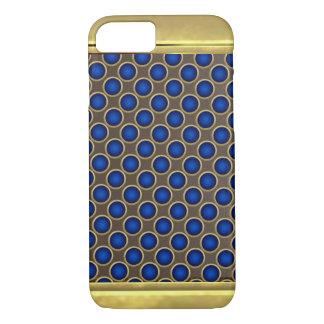Cool Gold Bronze Metallic Pattern iPhone 7 Case