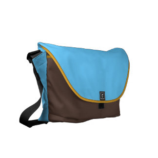 Cool Gold Passage Messenger Bags