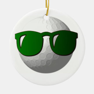 Cool Golf Ball Ornament