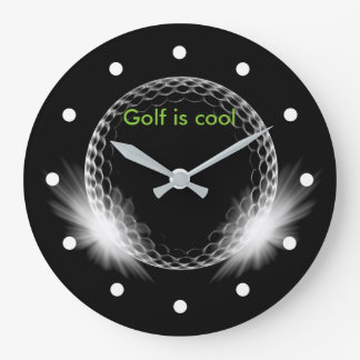 Cool Golf Theme Clock