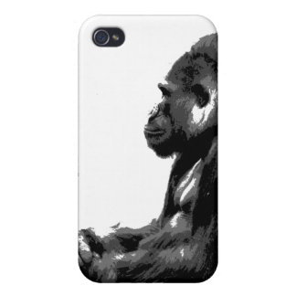 cool gorilla iphone case covers for iPhone 4
