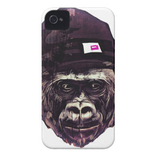 Cool Gorilla with cap iPhone 4 Covers