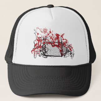 Cool Graffiti Fence.ai Trucker Hat