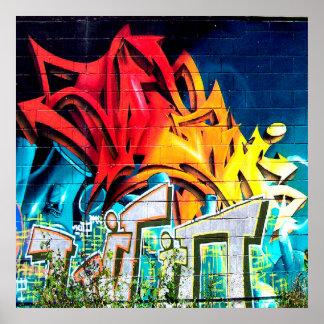 Cool Graffiti home office decor acryllic