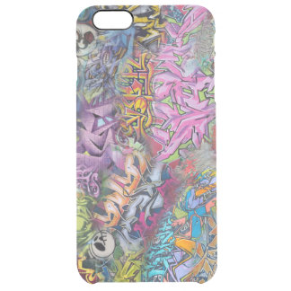 Cool Graffiti Street Art Abstract Clear iPhone 6 Plus Case