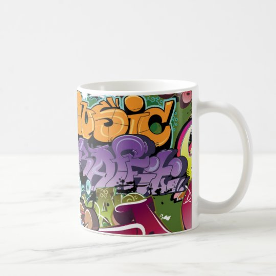 Cool Graffiti Street Art Abstract Coffee Mug