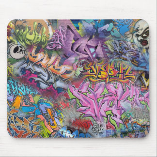Cool Graffiti Street Art Abstract Mouse Mat