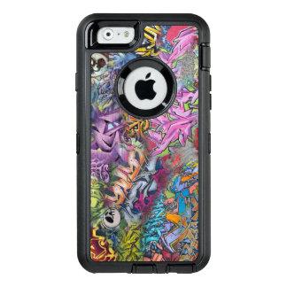 Cool Graffiti Street Art Abstract OtterBox Defender iPhone Case