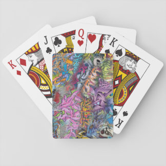 Cool Graffiti Street Art Abstract Playing Cards