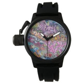 Cool Graffiti Street Art Abstract Watch