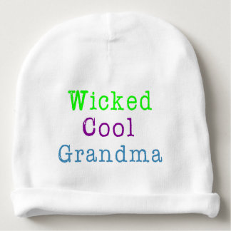 Cool Grandma Gift Baby Beanie