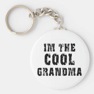 Cool Grandma T-Shirt Key Chains