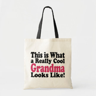 Cool Grandma Tote Bag