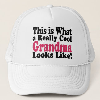 Cool Grandma Trucker Hat