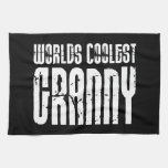 Cool Grandmothers Grannies : Worlds Coolest Granny Hand Towels