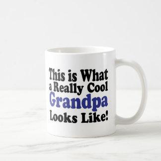 Cool Grandpa Classic White Coffee Mug