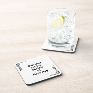 Cool great simple wisdom philosophy tao sentence drink coaster
