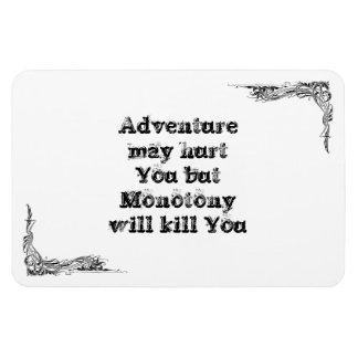 Cool great simple wisdom philosophy tao sentence vinyl magnets