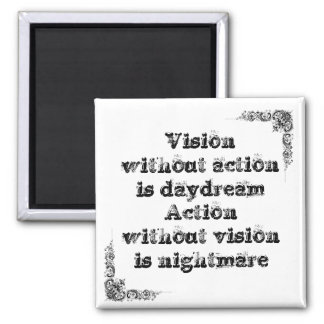 Cool great simple wisdom philosophy tao sentence square magnet