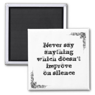 Cool great simple wisdom philosophy tao sentence refrigerator magnet