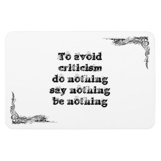 Cool great simple wisdom philosophy tao sentence magnets