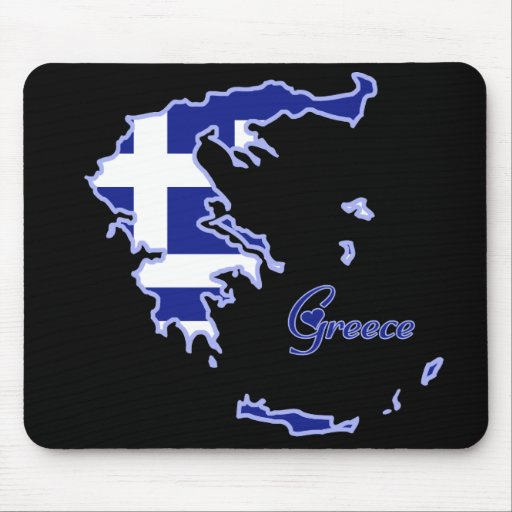 Cool Greece Mouse Pad