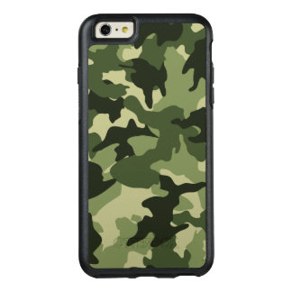 Cool Green Camo Military Camouflage Pattern Robust OtterBox iPhone 6/6s Plus Case