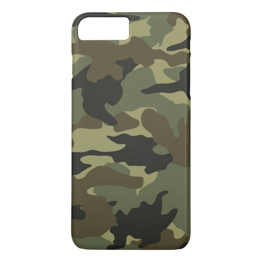 Cool Green Khaki Camo Camouflage Pattern Slim iPhone