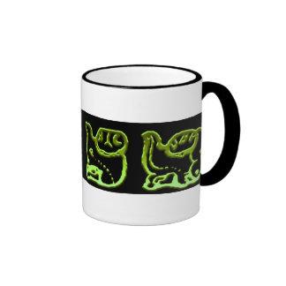 Cool Green Mayan Band Design Mug
