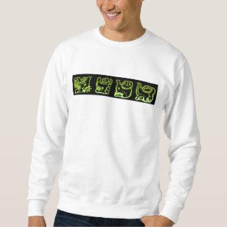 Cool Green Mayan Band Sweatshirt
