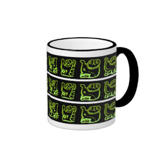 Cool Green Mayan Bands Mug