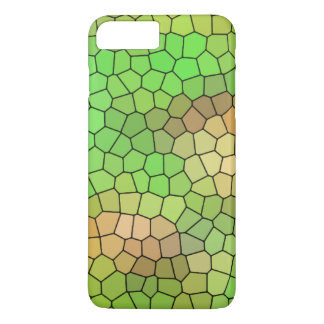 Cool Green Stained Glass Design iPhone 8 Plus/7 Plus Case