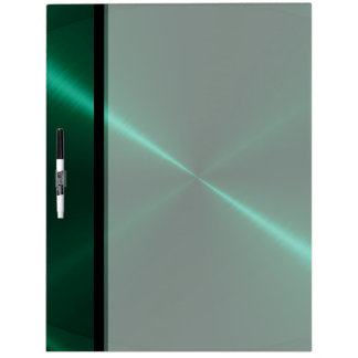 Cool Green Stainless Steel Metal Dry Erase Board