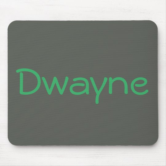 Cool Grey Green Monogrammed Personalised Mouse Mat